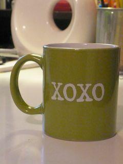 SMS XOXO coffee mug